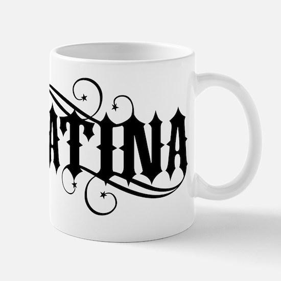 Latina - black Mug