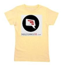 TTDB Logo on White Girl's Tee