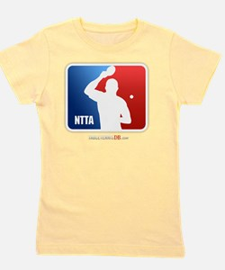 NTTA National Table Tennis Association Girl's Tee
