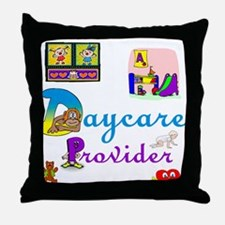 Daycare Provider Throw Pillow