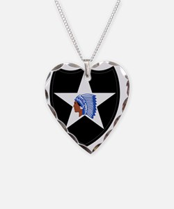 2nd Infantry Division Necklace