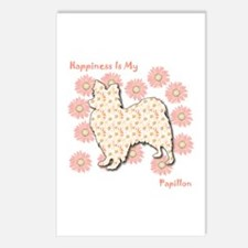 Papillon Happiness Postcards (Package of 8)