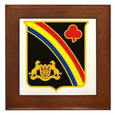 69th ID Crest Framed Tile