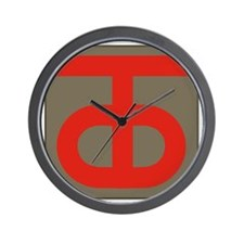 90th Infantry Division Wall Clock
