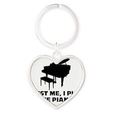 mk3687 Heart Keychain