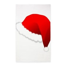 Santas Hat 3'x5' Area Rug