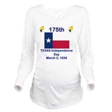 TEXAS INDEPENDENCE 1 Long Sleeve Maternity T-Shirt