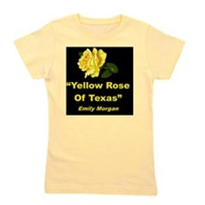YELLOW ROSE OF TEXAS Girl's Tee