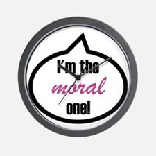 Im_the_moral Wall Clock
