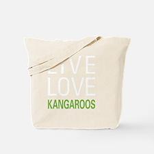 livekangaroo2 Tote Bag