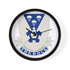1st Battalion (Airborne), 503rd Infantr Wall Clock