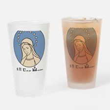 marylogo3_alt Drinking Glass