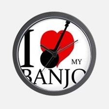 I love my Banjo Wall Clock