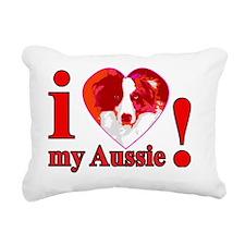 RedSlyHeart Rectangular Canvas Pillow