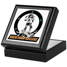rtr_logo in color for black shirts Keepsake Box