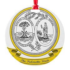 South Carolina Seal Ornament