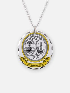 South Carolina Seal Necklace