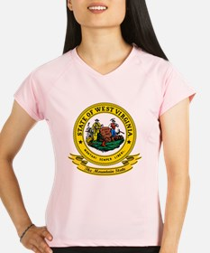 West Virginia Seal Performance Dry T-Shirt