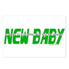 New Baby - January Postcards (Package of 8)