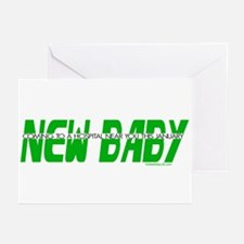 New Baby - January Greeting Cards (Pk of 10)