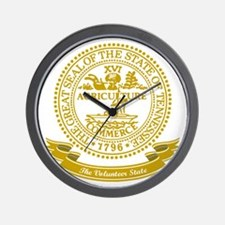 Tennessee Seal Wall Clock