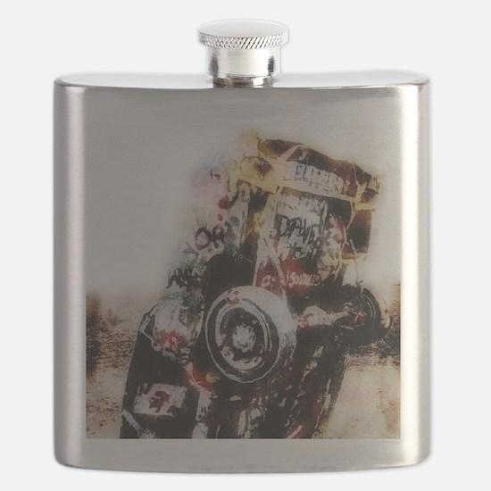 amarillo_Grunge_gymnBag Flask