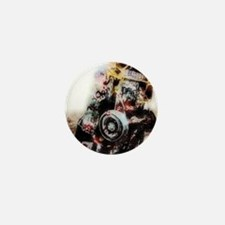 amarillo_Grunge_gymnBag Mini Button