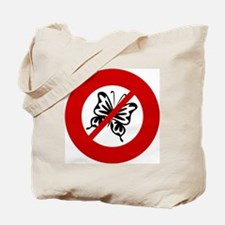 no-butterflys Tote Bag