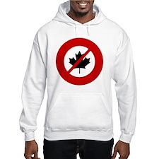 no-canadians Hoodie
