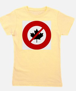 no-canadians Girl's Tee