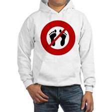 no-bare-feet Jumper Hoody