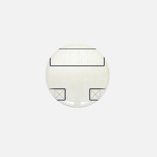 Writer Vest Mini Button
