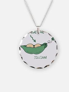 peapod2 that ones me Jillian Necklace