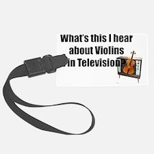 violinsintelevision Luggage Tag