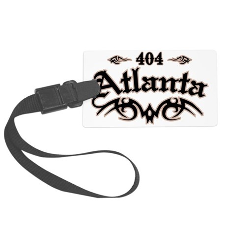 Atlanta 404 Large Luggage Tag