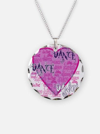 dance dance dance purple tex Necklace