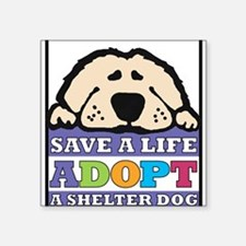 Save a Life Rectangle Sticker