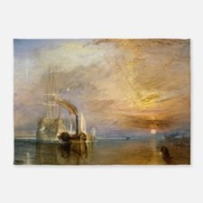 The Fighting Temeraire by Joseph Ma 5'x7'Area Rug