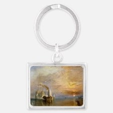 The Fighting Temeraire by Josep Landscape Keychain