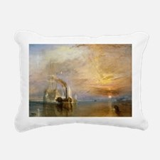 The Fighting Temeraire b Rectangular Canvas Pillow
