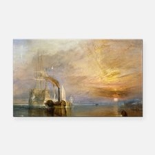 The Fighting Temeraire by Jos Rectangle Car Magnet