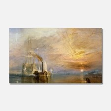 The Fighting Temeraire by Josep Car Magnet 20 x 12