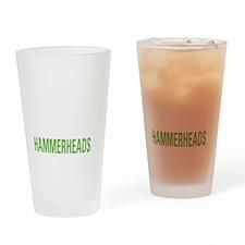livehammerhead2 Drinking Glass