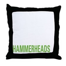 livehammerhead2 Throw Pillow