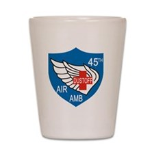 45th Medical Dustoff Patch Shot Glass