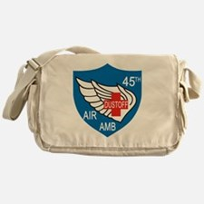 45th Medical Dustoff Patch Messenger Bag