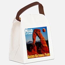 arches_np_eclipse2 Canvas Lunch Bag
