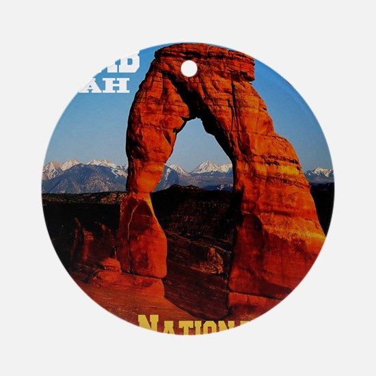 arches_np_eclipse2 Round Ornament