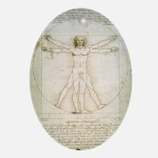 The Proportions of the human figure  Oval Ornament