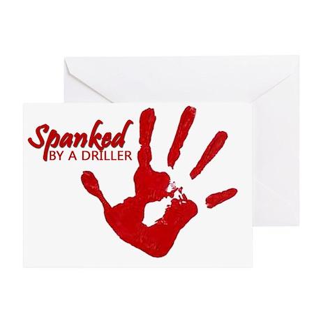 spankedD Greeting Card